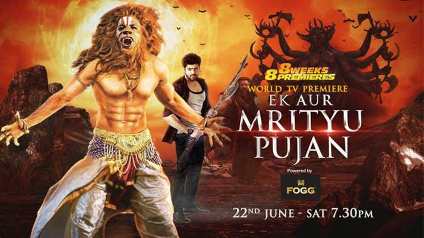 8 weeks 8 premiere mein dekhiye Ek Aur Mrityu Pujan, 22nd June shaam 7:30 baje