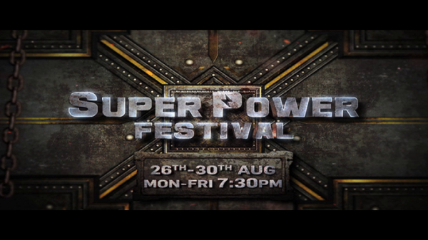 Colors Cineplex par dekhiye Super Power film festival 26-30th Aug, Mon-Fri shaam 7:30 baje.