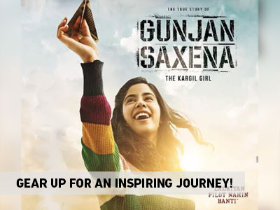The first look of Gunjan Saxena is here!