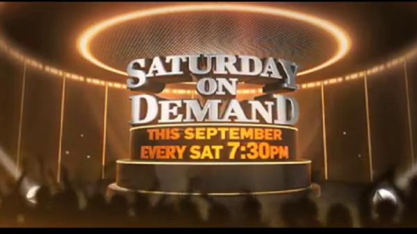 Ab se har #Saturdayhoga dhamakedaar kyunki aa raha hai #SaturdayOnDemand aapki favourite filmein lekar sirf Colors Cineplex par! Tune karna mat bhuliye shaam 7:30 baje.