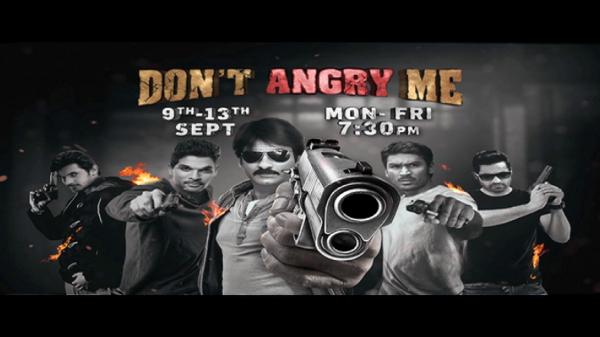 #ColorsCineplex lekar aa raha hai #DontAngryMe film festival 9th-13th September. Dekhna na bhule