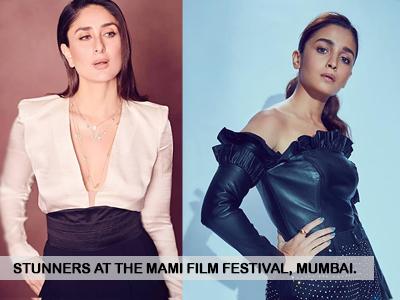 Kareena Kapoor Khan and Alia Bhatt kill it with their looks at MAMI Film Festival!