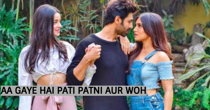 The first look of Pati Patni aur Woh is here!