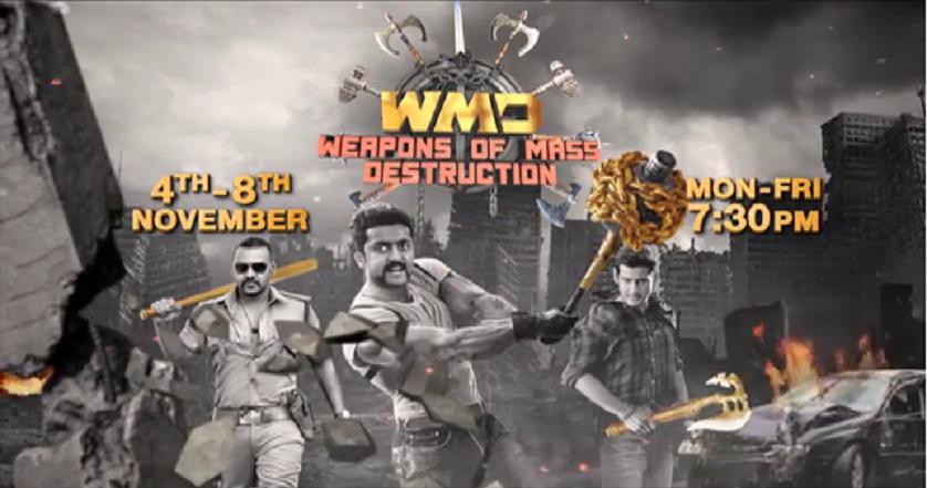 WMD Film festivals laa raha hai luch filmein jo hai aapki forever favourite! Tayaar ho jaao 4th-8th November, Mon-Fri shaam 7:39 baje.