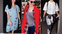 Flying high with these airport looks!