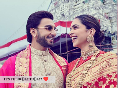 It's #DeepVeer first anniversary and here's how they're celebrating!