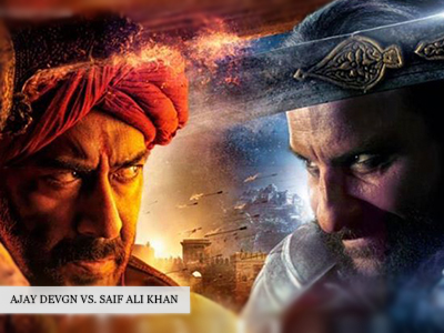 Gear up for Ajay Devgn and Saif Ali Khan in their new film, Tanhaji-The Unsung Warrior