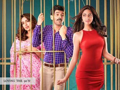 Kartik Aaryan, Ananya Panday and Bhumi Pendnekar grooves on Akhiyon se Goli maare!