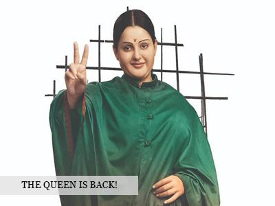 Kangana Ranaut as Thalaivi!