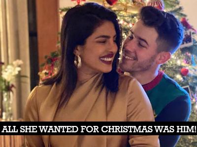 Christmas celebrations in full swing for Priyanka Chopra!