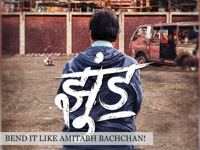 Amitabh Bachchan is back with Nagraj Manjule's Jhund!