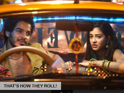 Ananya Panday and Ishaan Khatter are the real risk-takers!