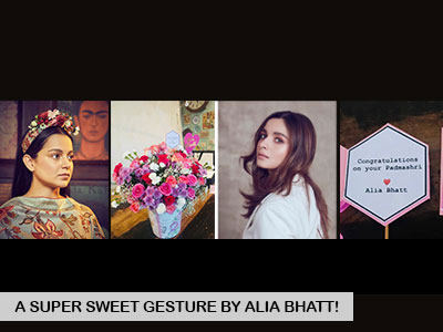 Alia Bhatt pays ode to Kangana Ranaut in a special way!