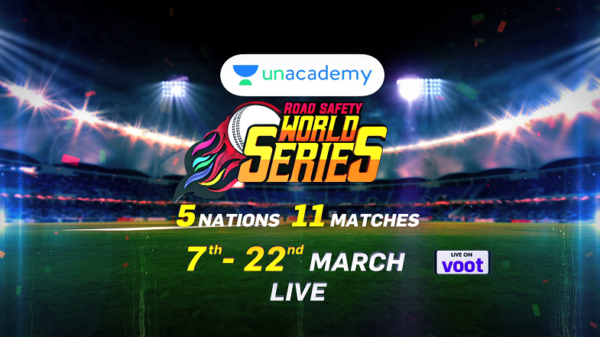 Seekhna chahoge Sachin aur Sehwag jaise batting? Tune in for the  Unacademy Road Safety World Series starting 7th March.!