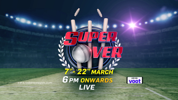 Super Series demands for the Super Over! Iss legendary jung mein laughter ka tadka lagane aa rahe hai Sureshn Menon or Bored Broacha !Watch Super Over staring 7th March, 6 PM onwards only on #ColorsCineplex.