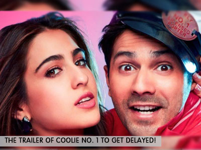 The trailer of Coolie No. 1 gets pushed due to COVID-19
