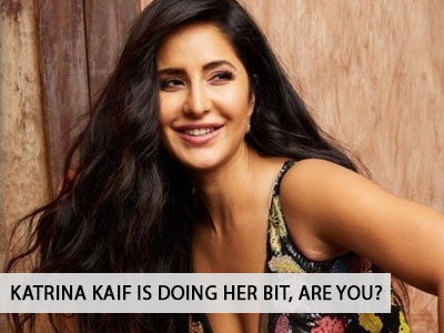 Here's how Katrina Kaif is keeping herself busy in Quarantine times.