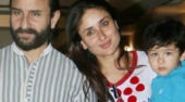 Did you know there was a budding artist living with Saif and Kareena?