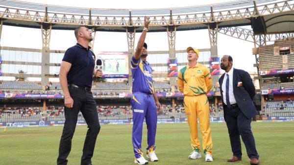 Photo Gallery of Sri Lanka Legends Vs Australia Legends Match!