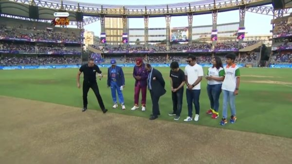 India vs WestIndies | Match 1 Toss | 7th March 2020 | Unacademy Road Safety World Series