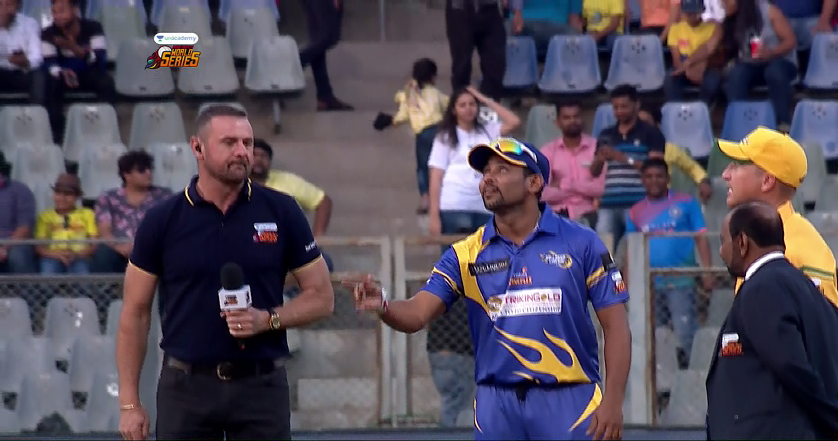 Match Highlights of Sri Lanka Legends Vs Australia Legends!