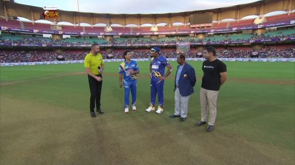 India Legends vs Srilanka Legends | Toss | 10th March 2020 | Unacademy Road Safety World Series