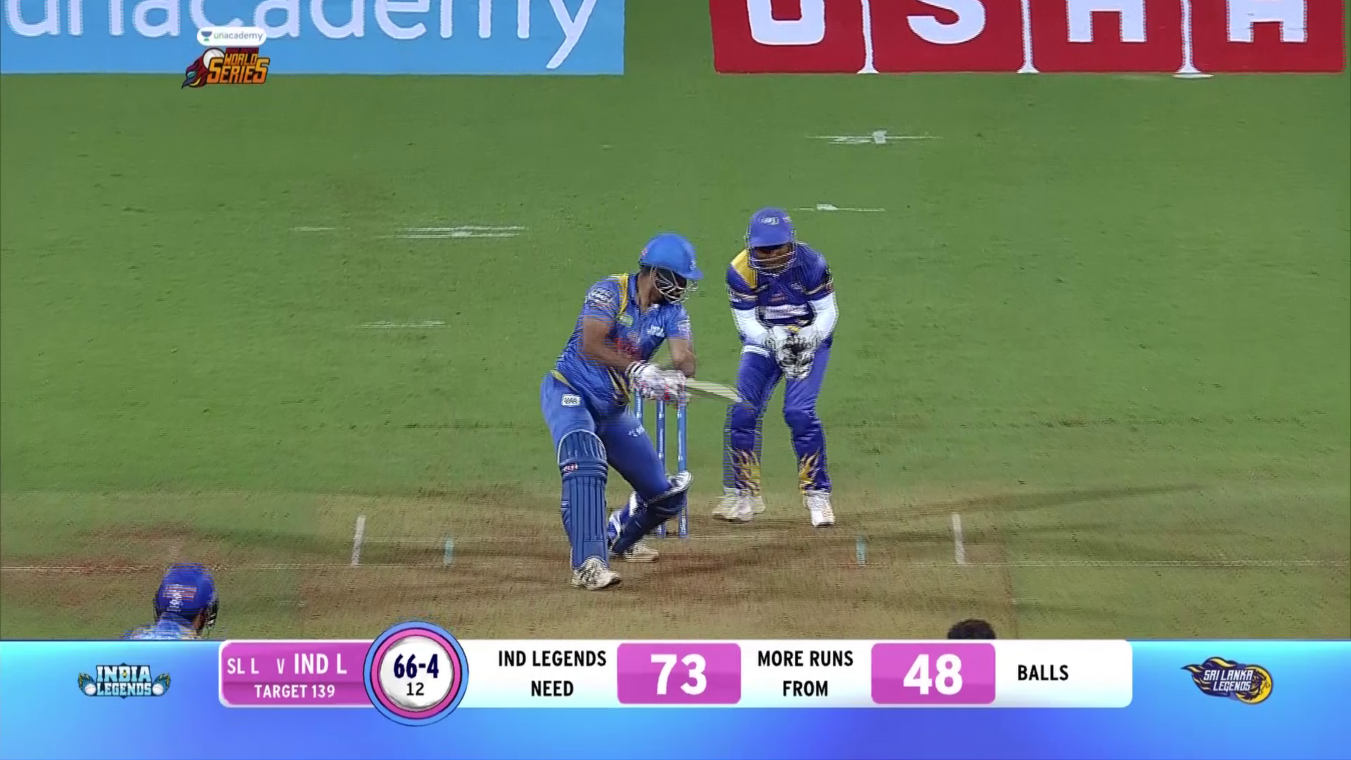 India Legends vs Srilanka Legends | Irfan Innings | 10th March 2020 | Unacademy Road Safety World Series
