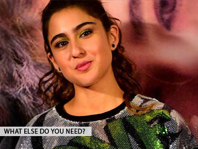 Sara Ali Khan shares her Monday motivation, what's yours?