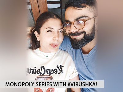 Anushka Sharma and Virat Kohli are on a monopoly spree!