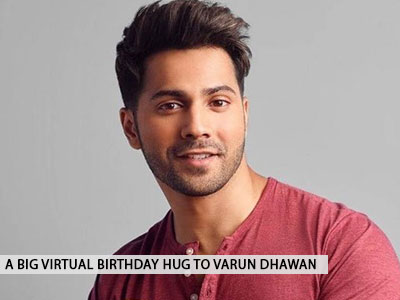 Happy birthday to the one and only Varun Dhawan!