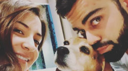 Anushka and Viat share pictures of their pooch! RIP Bruno!