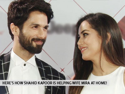 Shahid Kapoor looks after this department at home amidst the lockdown