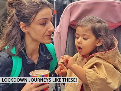 Soha Ali Khan's lockdown journey is one of our favourites!