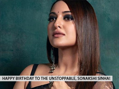 Birthday girl Sonakshi Sinha loves black as much as us and these pictures are proof!