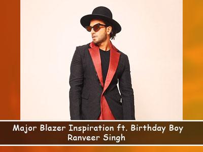 7 times Ranveer Singh tried unconventional blazers and aced each look!