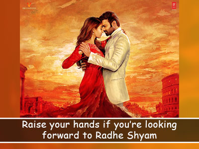 The first look of Prabas and Pooja Hegde starrer 'Radhe Shyam' is here!