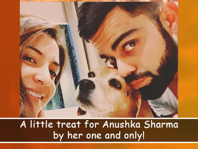 Anushka Sharma's mid-week cravings have been taken care of by Husband Virat Kohli!