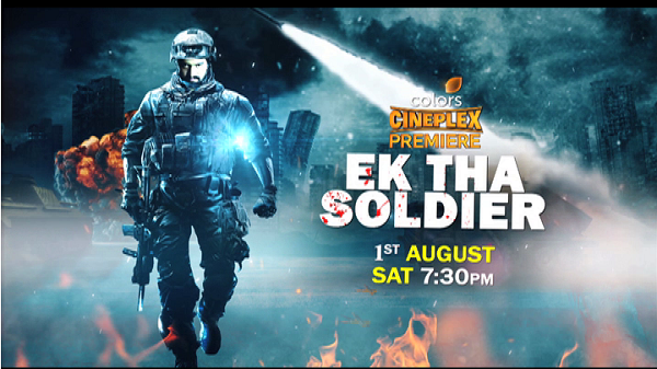 Yeh soldier kisi pe aanch nahi aane dega! 😎 Dekhiye #CineplexPremiere mein, #EkThaSoldier, Saturday, 1st August shaam 7:30.