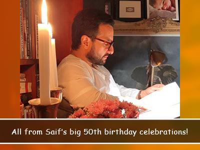 Saif big 50th birthday was all sorts of brilliant!
