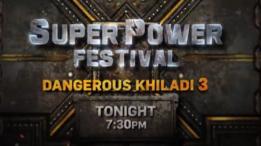 "Dangerous Khiladi 3 (17th august) – ""Ravi Ke Saath, Sabka Number Aayega"" 😎 In #SuperPower film festival, watch #DangerousKhiladi3 starring Vijay and Anushka Shettyofficial today at 7.30 PM only on #ColorsCineplex."