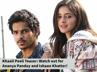 The teaser of Khaali Peeli looks promising as ever!