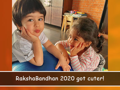Rakshabandhan 2020: Our Monday just got better after seeing Inaaya and Taimur!