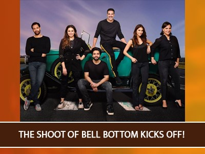 Vaani Kapoor and the entire cast of Bell Bottom are set to shoot in Scotland!