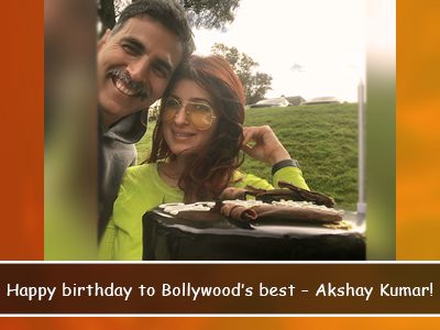 Akshay Kumar's sweet little celebration with his fam looked like this