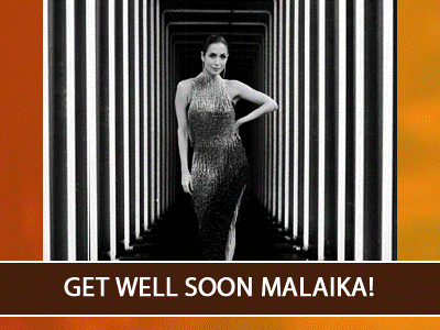 Malaika Arora test covid positive. Issues a an official statement