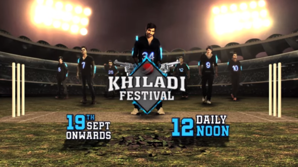 Khiladi Festival | 19th September onwards @12PM | Colors Cineplex