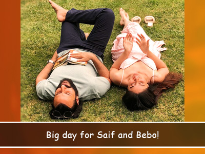 It's Saif and Bebo's anniversary today and she shares the secret to a happy marriage!