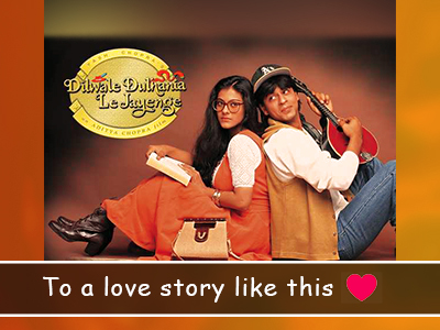 DDLJ turns 25 years old and we're celebrating!