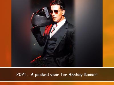 2021's looking great for Akshay Kumar!