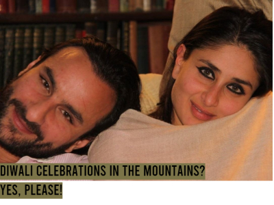 Kareena and Saif plan to be here during Diwali!